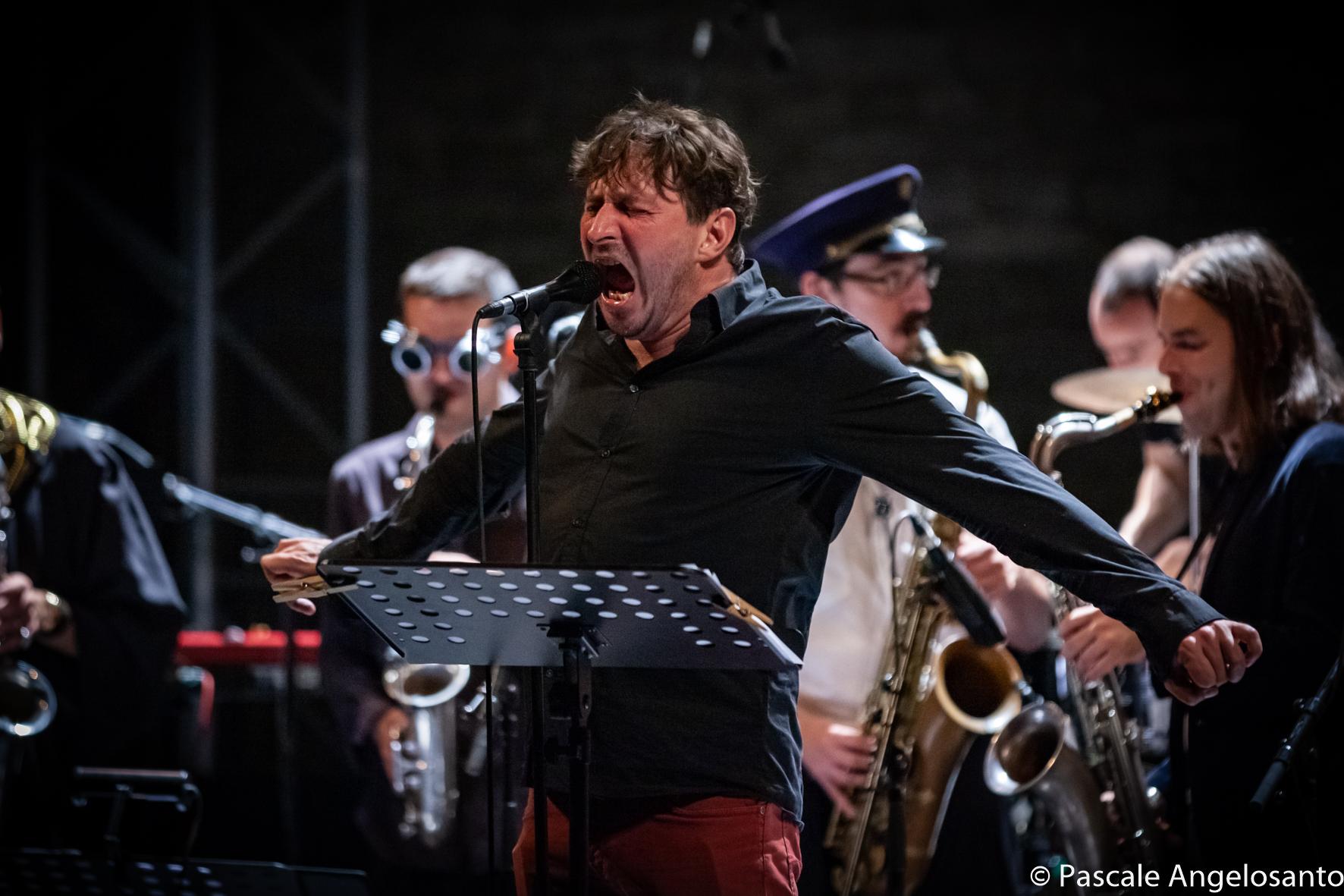 Loïc Lantoine et son orchestre, Barjac 2018