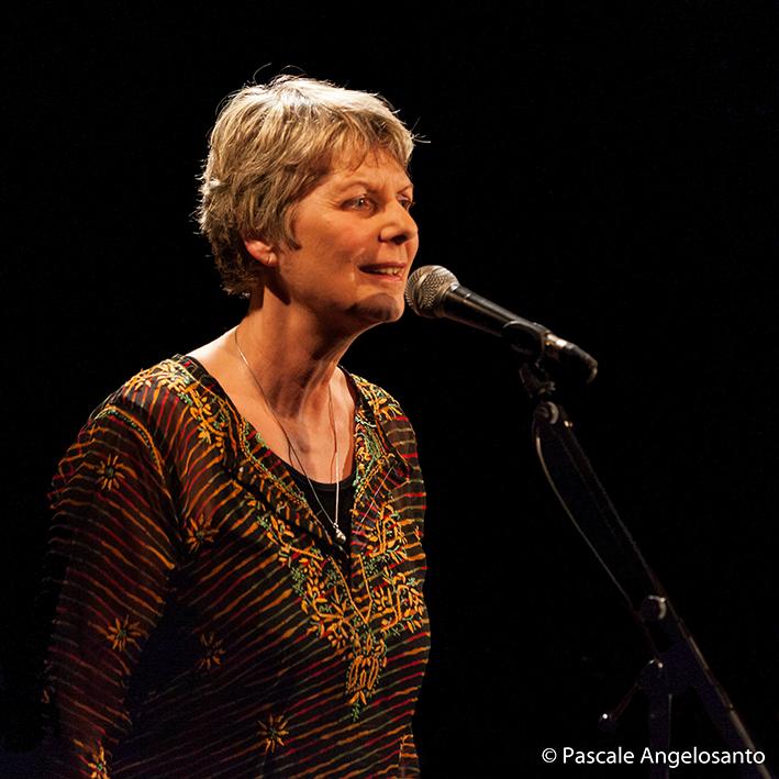 Nathalie Lillo, sortie de disque au Forum Léo Ferré, mars 2019