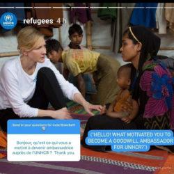 Poser une question à Cate Blanchett, double oscarisée…